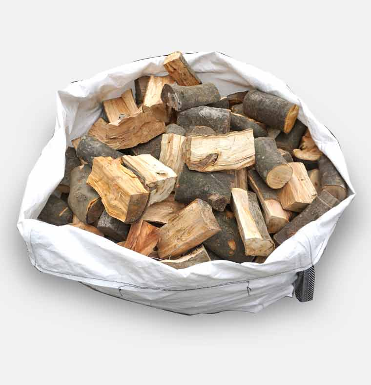 Medium bag of logs