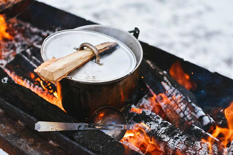 Fire-pit logs