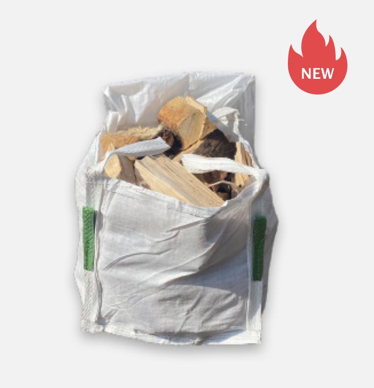 Mini bag of mixed kiln dried hardwood logs